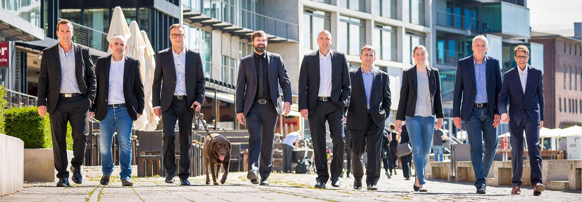 Über Uns - Teamfoto- DT-P Marktforschung